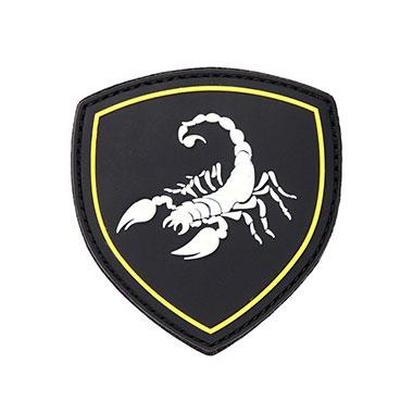 101 inc - Patch 3D PVC Russian Scorpio black