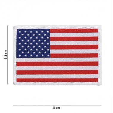 101 inc - Patch fine woven flag USA #7130