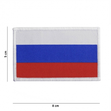 101 inc - Patch fine woven flag Russia #7133