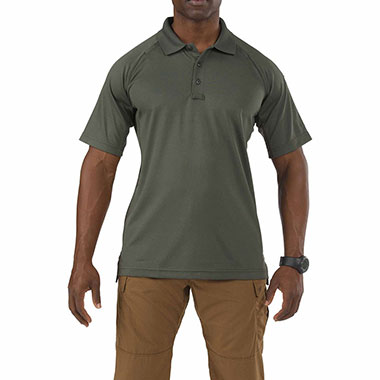 5.11 Tactical - Performance Short Sleeve Polo - TDU Green