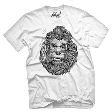 Fifty5 Clothing - Cigar King Men's T Shirt - White