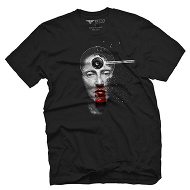 Fifty5 Clothing - Director Walken Men's T Shirt - Black