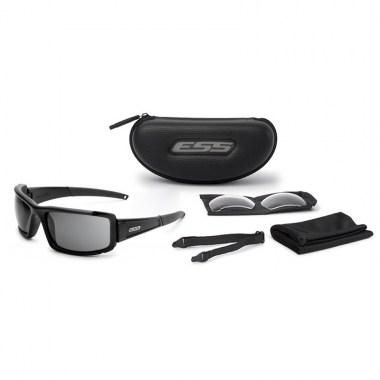 ESS - CDI MAX - Matte Black/Lens Clear-Smoke
