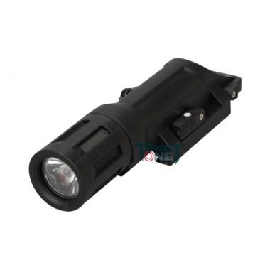 Target One - WMLX outdoor lighting outdoor riding Flashlight LED light flashlight SD-043 - Black