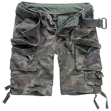 Brandit - Savage Vintage Shorts - Woodland
