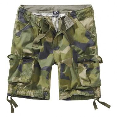 Brandit - Urban Legend Shorts - Swedish Camo