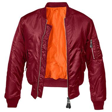 Brandit - MA1 Jacket - Burgundy