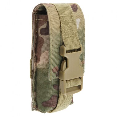 Brandit - Molle Multi Pouch Large - Tactical camo