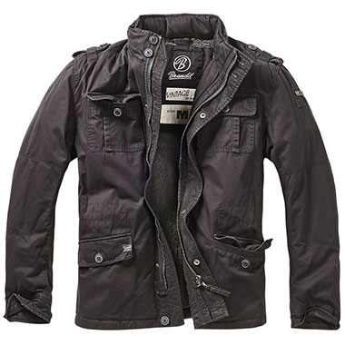 Brandit - Britannia Winter Jacket - Black