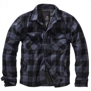 Brandit - Lumberjacket - Black-Grey