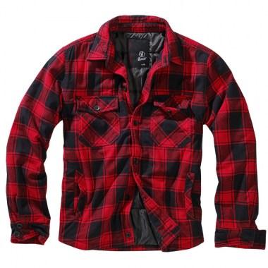 Brandit - Lumberjacket - Red-Black