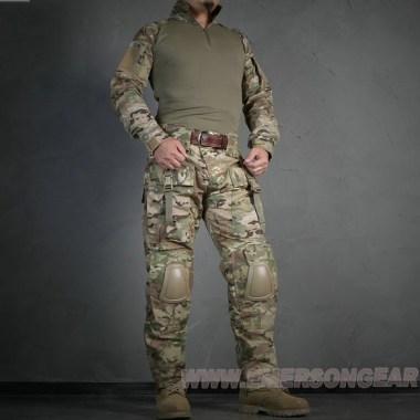 Emerson - CP tactical suit - knee pad & elbow pad - Multicam