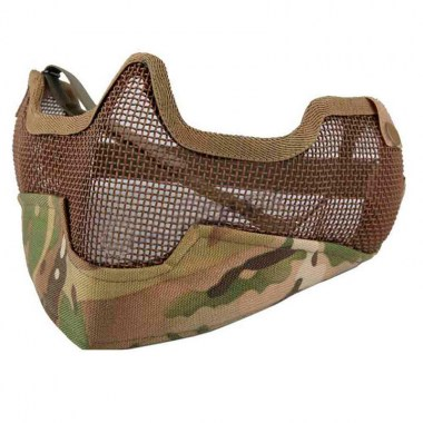 Emerson - V2 Strike Steel Half Face Mask - Multicam