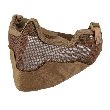 Emerson - V2 Strike Steel Half Face Mask - Coyote Brown