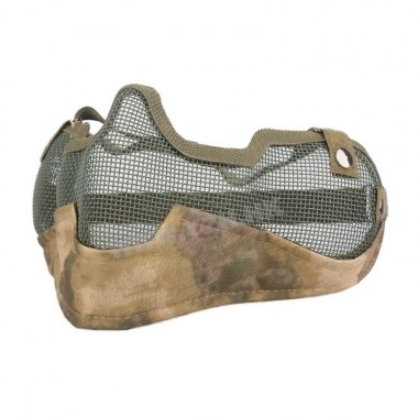 Emerson - V2 Strike Steel Half Face Mask - A-tacs FG