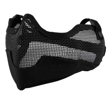 Emerson - V2 Strike Steel Half Face Mask - Black