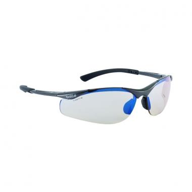 Bolle - CONTOUR Safety Glasses - Frame Black-Grey/Lens ESP