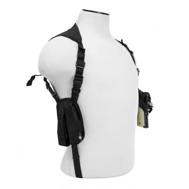 NcSTAR - Ambidextrous Shoulder Holster - Black