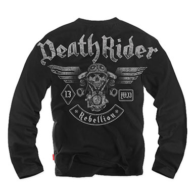 Dobermans - Longsleeve Death Rider - Black