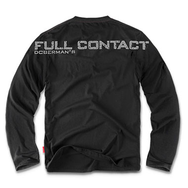 Dobermans - Longsleeve Full Contact LS13 - Black