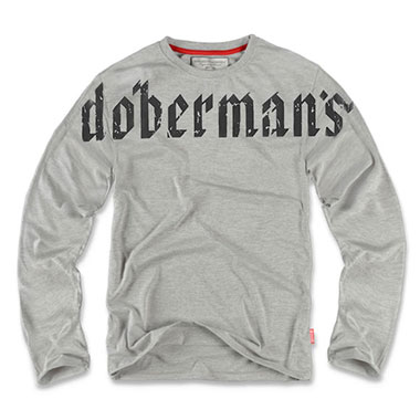 Dobermans - Longsleeve Doberman's - Grey