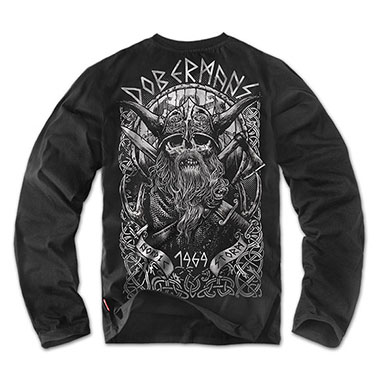 Dobermans - Longsleeve Viking II - Black