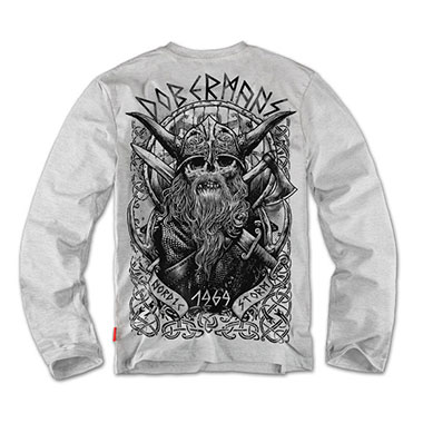 Dobermans - Longsleeve Viking II - Grey