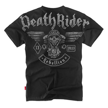 Dobermans - Death Rider T-shirt TS128 - Black