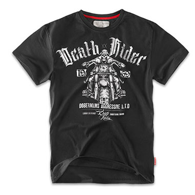 Dobermans - Death Rider T-shirt TS57 - Black