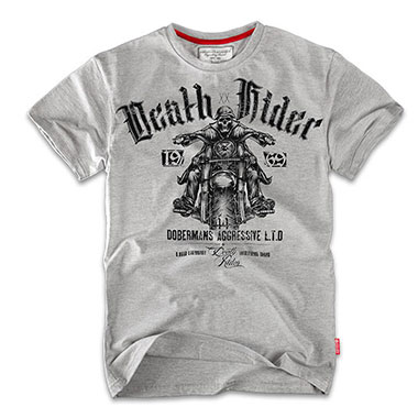 Dobermans - Death Rider T-shirt TS57 - Grey