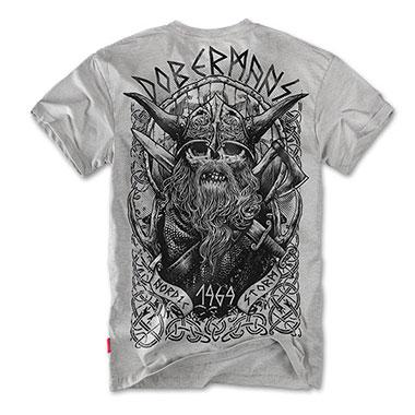 Dobermans - Viking II T-shirt - Grey