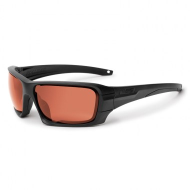 ESS - Rollbar Tactical - Frame Black/Lens Clear, Smoke Gray & Mirrored Copper