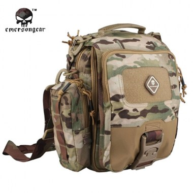 Emerson - Tablet + Netbook Medium-Messenger Bag - Multicam