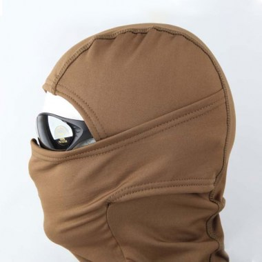 Emerson - Fleece Warmer Hood - Coyote Brown