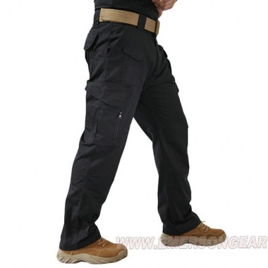 Emerson - All-weather Outdoor Tactical Pants - Black