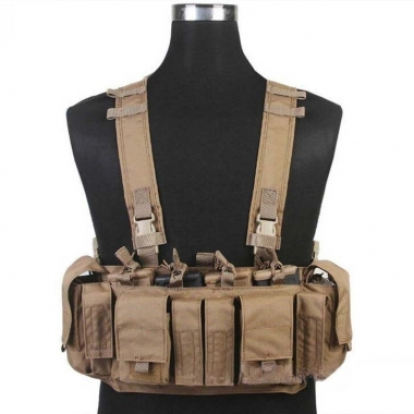 Emerson - MF Style UW IV Chest Rig - Coyote Brown