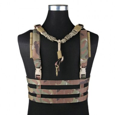 Emerson - MOLLE System Low Profile Chest Rig - Multicam