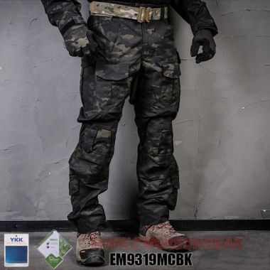 Emerson - Blue Label G3 Tactical Pants - Multicam Black