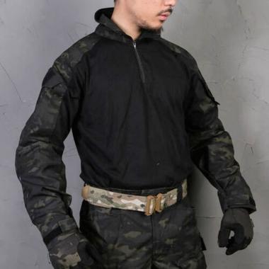 Emerson - Blue Label Upgraded version G3 Combat Shirt - Multicam Black