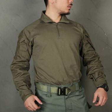 Emerson - Blue Label Upgraded version G3 Combat Shirt - Ranger Green