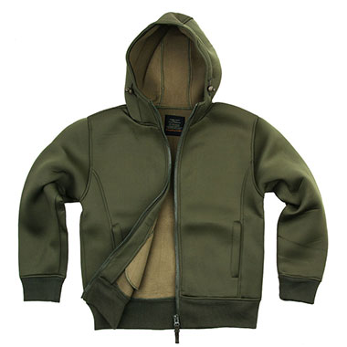 Fostex - Hooded vest- Green