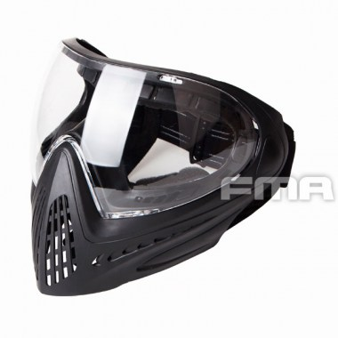 FMA - F1 Full face mask with single layer - Black