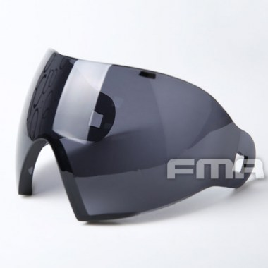 FMA - F1 Full Face PC Lenses - Grey