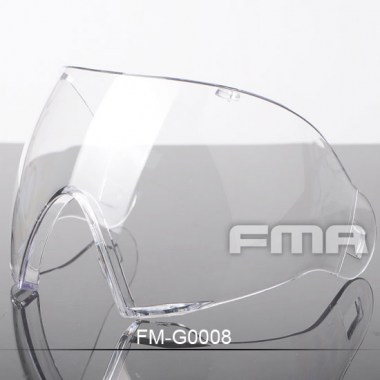 FMA - F1 Full Face PC Lenses - Transparent