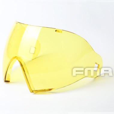 FMA - F1 Full Face PC Lenses - Yellow