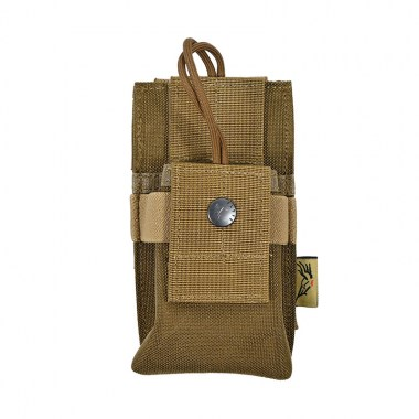 Flyye - MOLLE Short Radio Pouch - Coyote