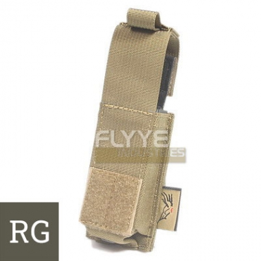 Flyye - MOLLE 9mm Pistol Magazine Pouch Ver.HP - Ranger Green