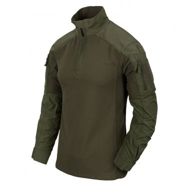 Helikon-Tex - MCDU Combat Shirt - NyCo Ripstop - Olive Green
