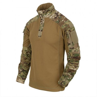 Helikon-Tex - MCDU Combat Shirt - NyCo Ripstop - Multicam / Coyote A