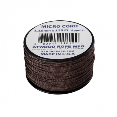 Atwood Rope MFG - Micro Cord (125ft) - Brown